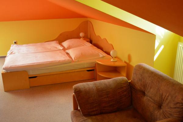 Ubytování Beskydy - Zámeček na Čeladné v Beskydech - pokoj