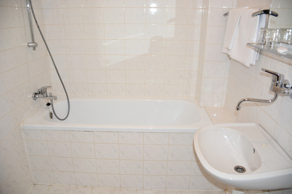 Ubytování Beskydy - Zámeček na Čeladné v Beskydech - koupelna